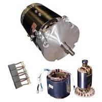 Электродвигатель и детали к нему